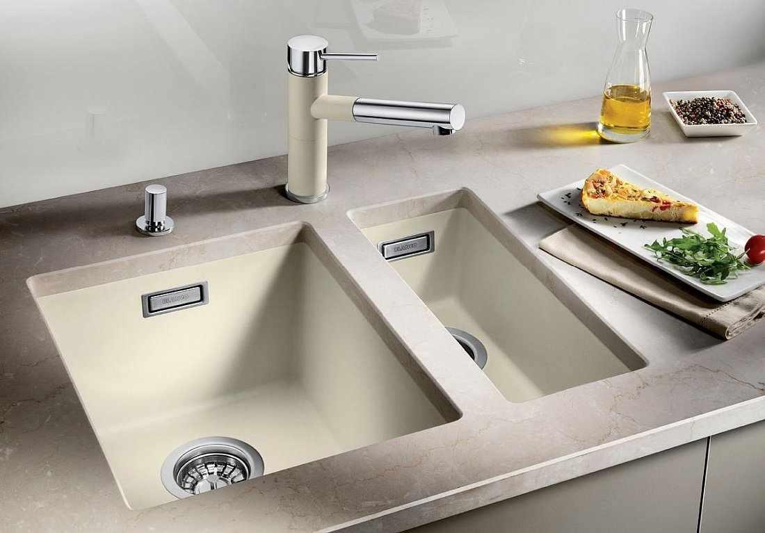 Подстольная раковина для кухни