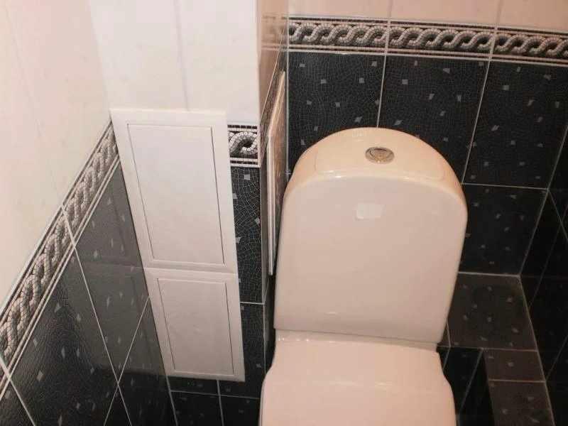 Короб для труб в туалете