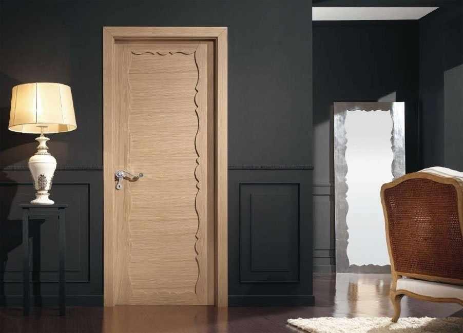 Отделка дверей