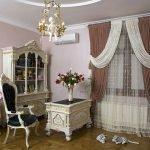 Интерьер с мебелью в классическом стиле
