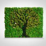 Дерево на картине
