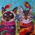 Воробьи на котах
