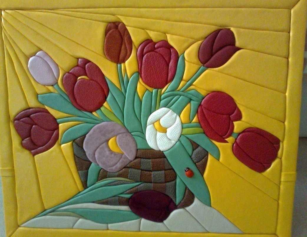 Мастер-класс картины в технике «Кинусайга»