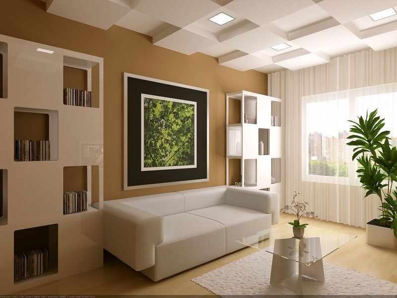 Картина по фен-шуй в гостиной