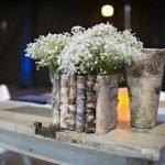 Горшки для цветов из прутиков