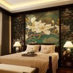 Изящный декор спальни в доме