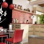 Восточная кухня декор