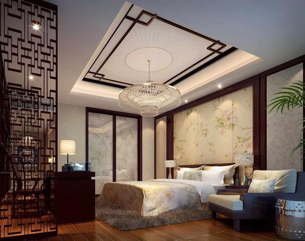 Роскошная восточная спальня