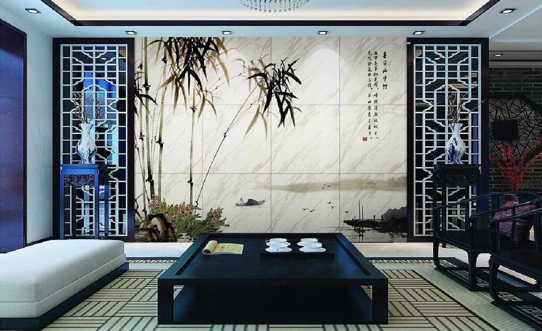 Изящный декор стены с изображением бамбука
