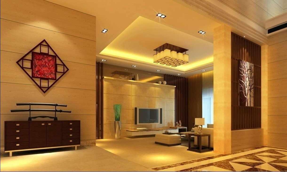 Декор потолка в китайском стиле