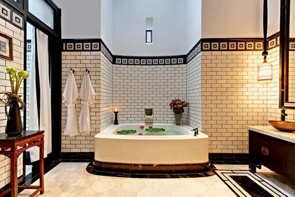Интерьер китайской ванной