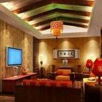 Уютный декор комнаты в китайском стиле