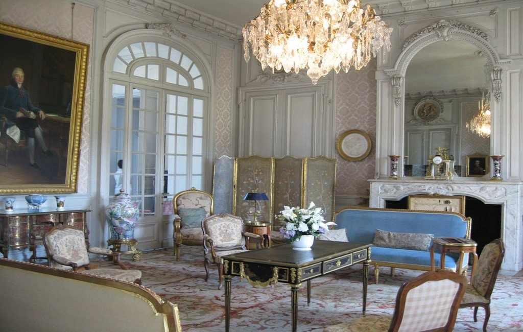 Интерьер в стиле классицизм