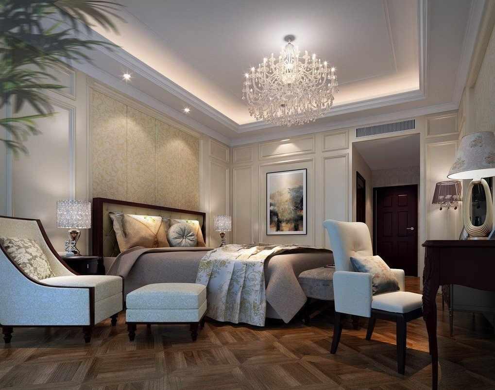 Спальня в стиле классицизм