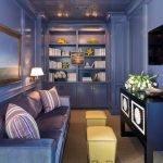 Синий цвет в дизайне комнаты
