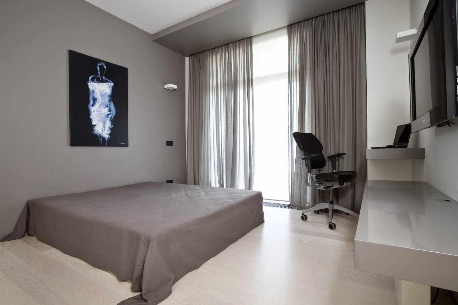 Комната в стиле минимализм