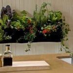 Цветы в декоре кухни