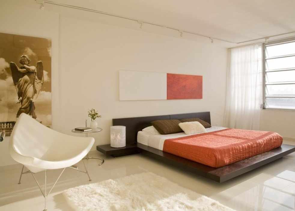 Спальня в стиле конструктивизм