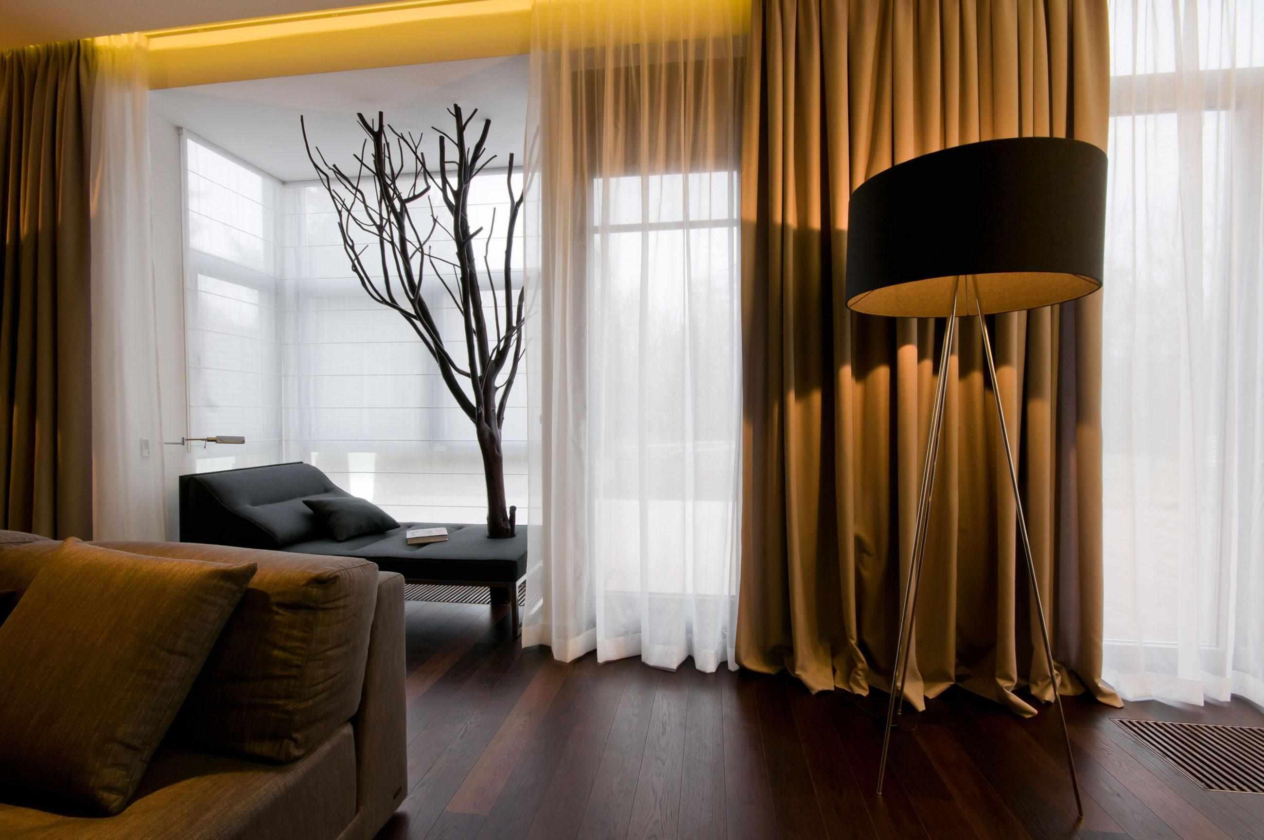 Стильный декор зала
