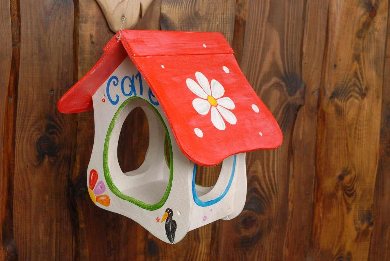 Идеи декора кормушки для птиц