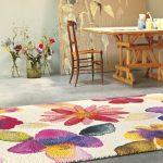 Цветы на ковре