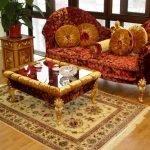 Шикарная мебель в комнате
