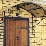 Дом со старинной дверью