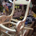 Сборка кресла-качалки