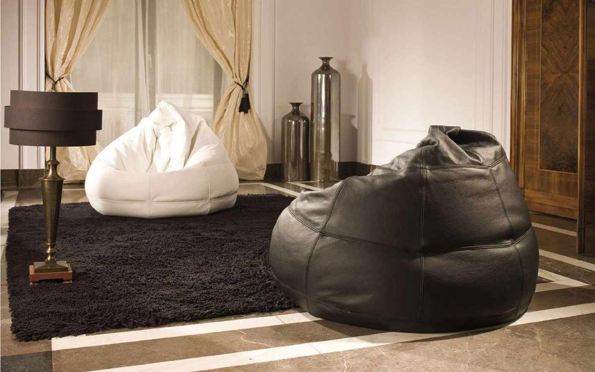 Кресла мешки из кожи