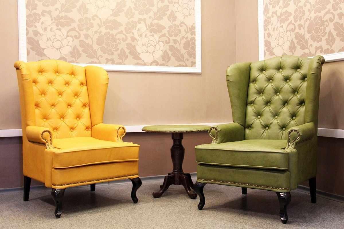 Кресла в интерьере