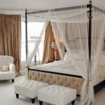 Балдахин на кровати