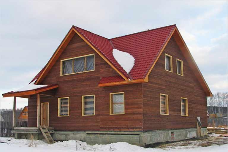 Бубновая красная крыша