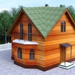 Бубновая зеленая крыша