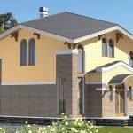 Бубновая коричневая крыша