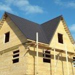 Бубновая черная крыша