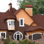 Многощипцовая крыша частного дома