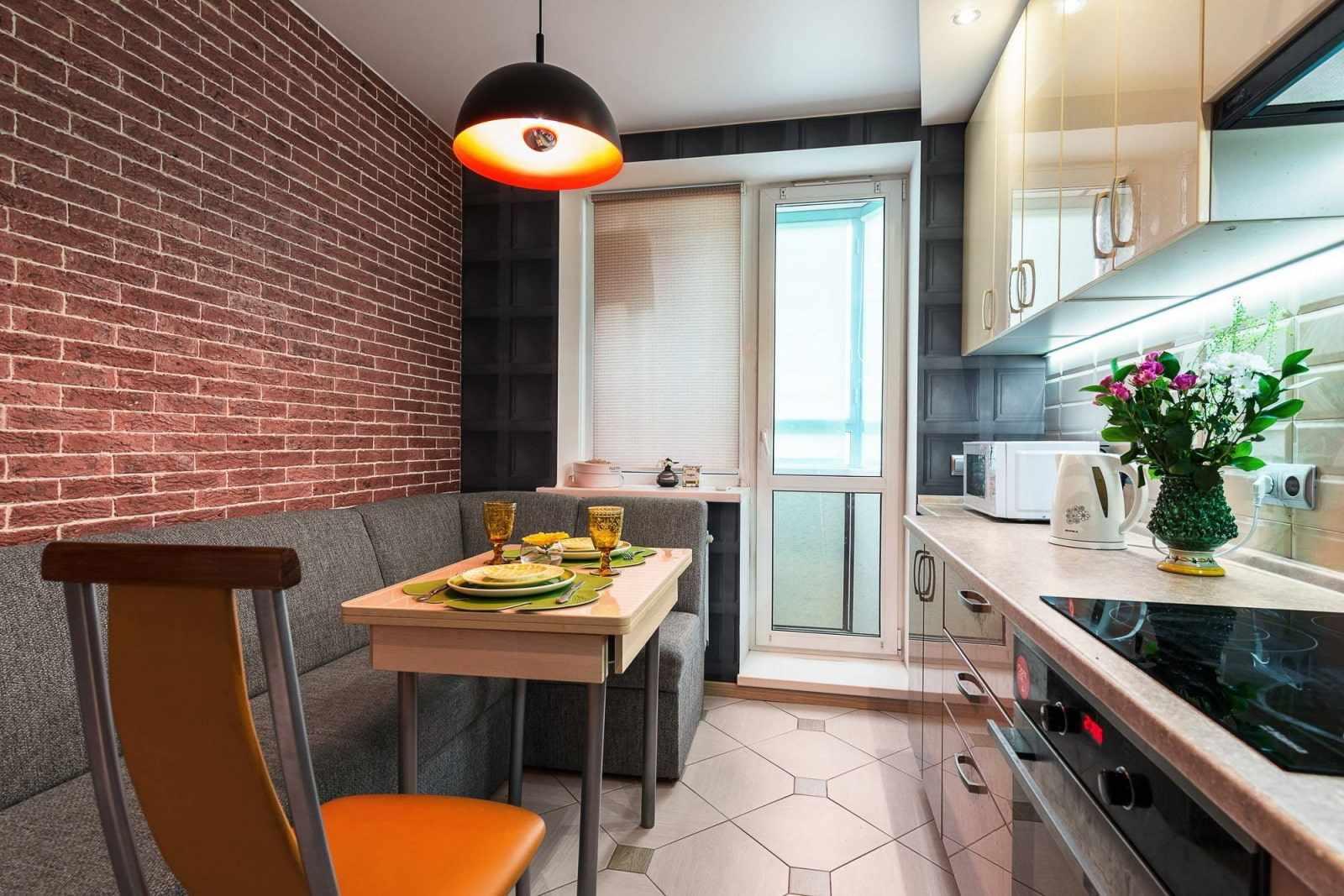 Кухня 12 кв м с однорядной планировкой