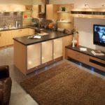 Кухонная мебель с подсветкой