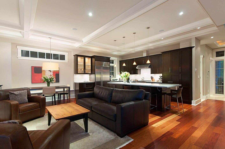 Мебель в гостиной зоне