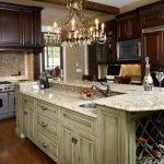 Кухонные островки с мойкой
