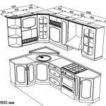 Компоненты угловой кухни