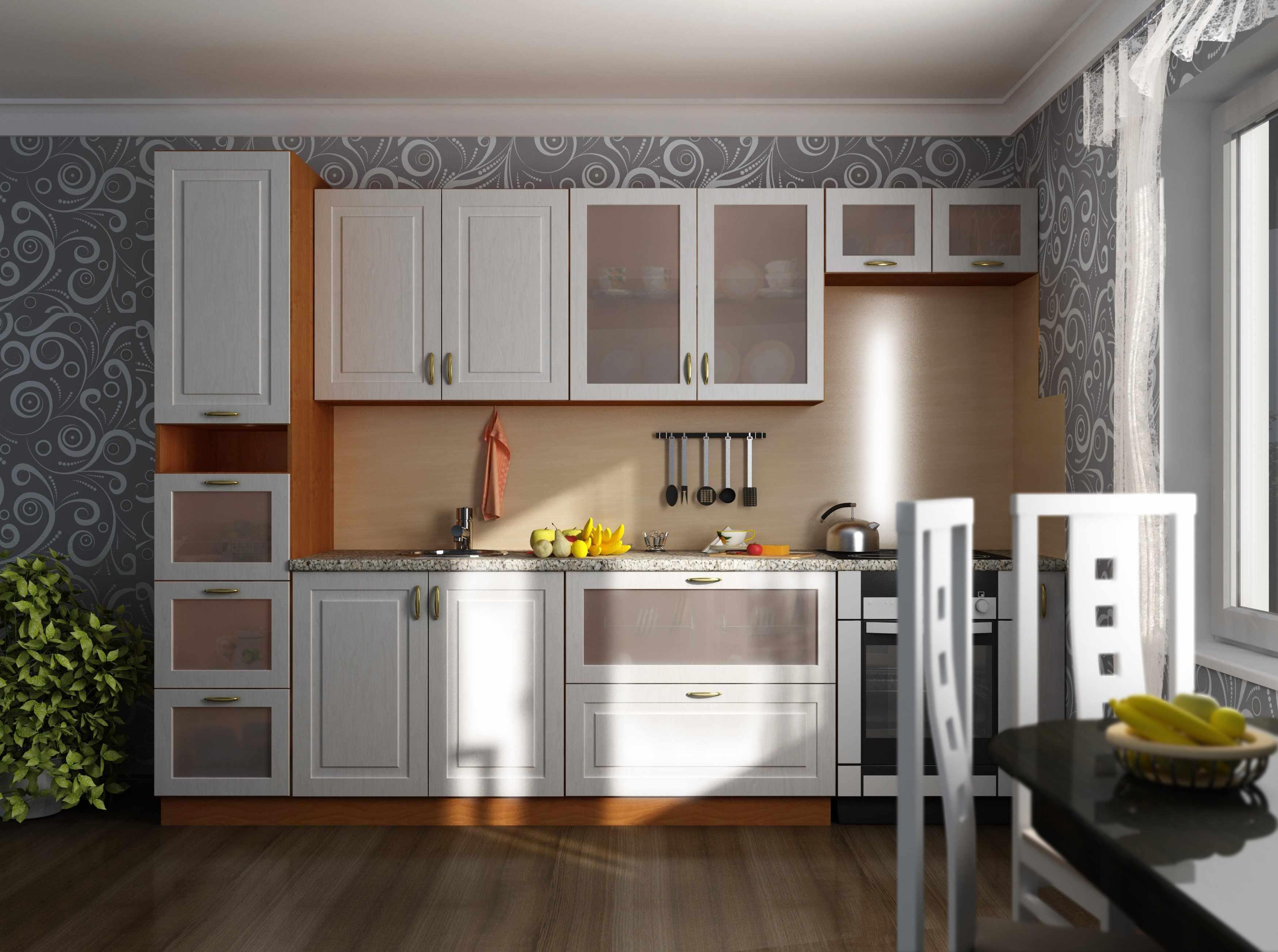 3D- визуализация кухни