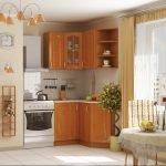 3D- визуализация кухни в стиле прованс