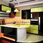 Встраиваемая техника в интерьере кухни