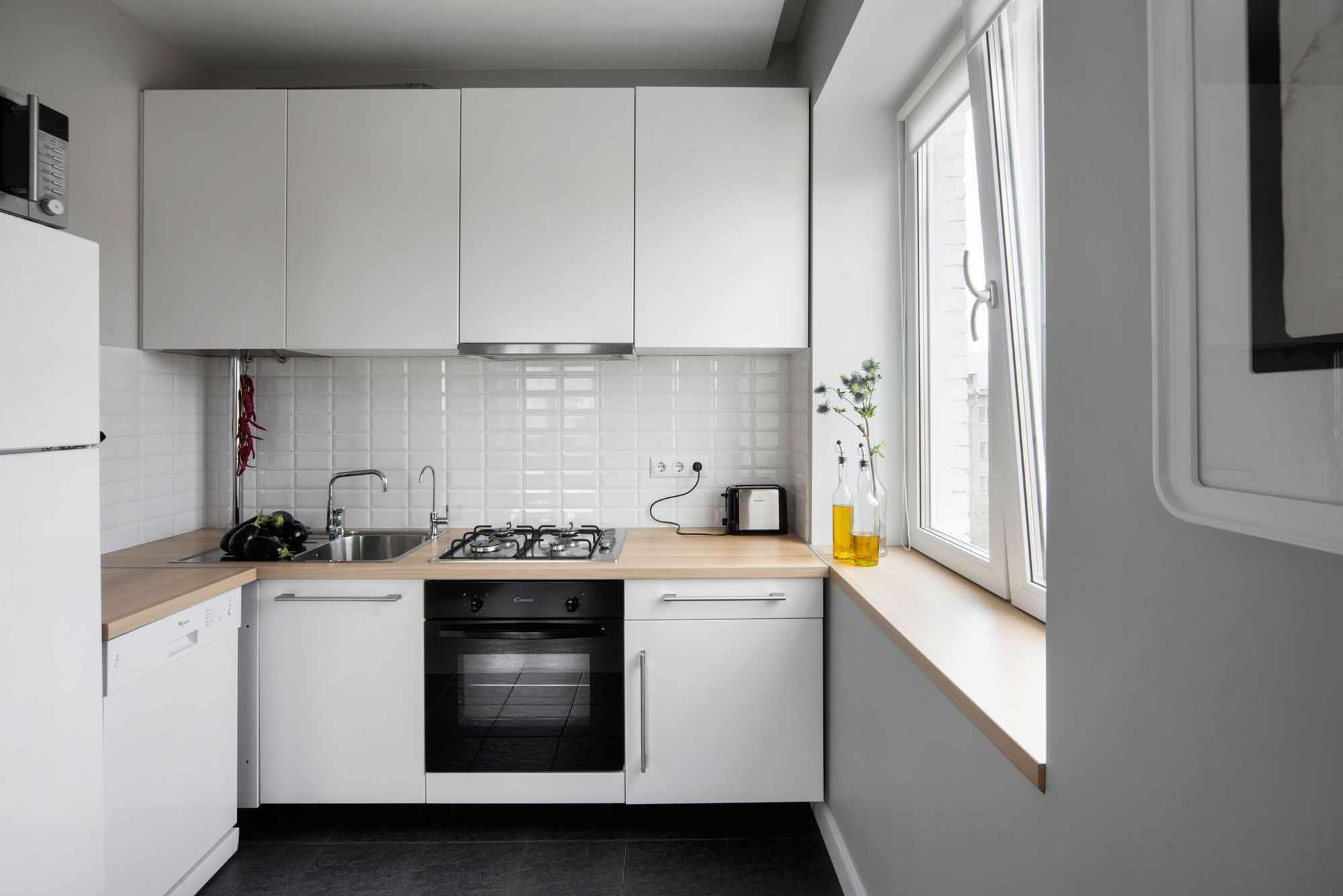 Кухня в хрущевке: дизайн и интерьер
