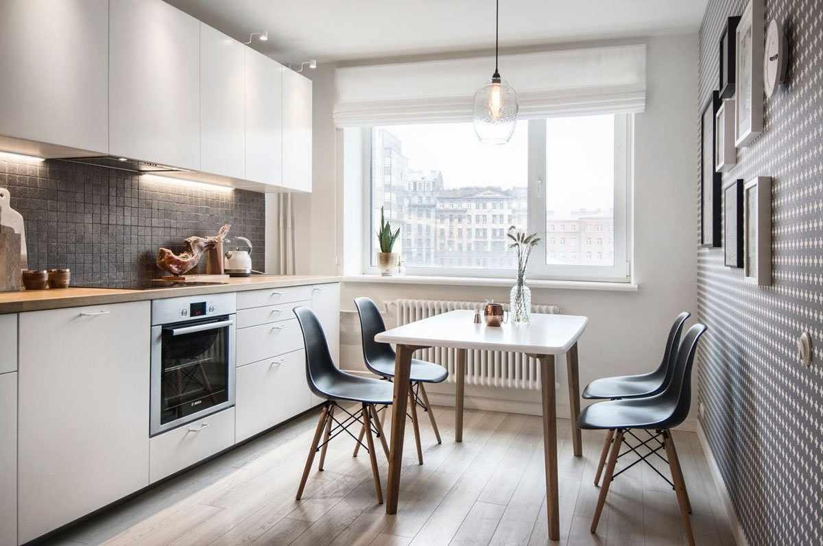 Оформление кухни в скандинавском стиле