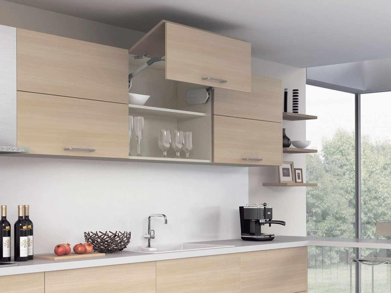 Складные фасады для кухни