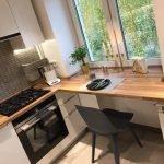 Столешницы из дерева на кухне