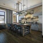 Лофт-стиль на кухне