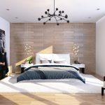 Оригинальные люстры в спальне